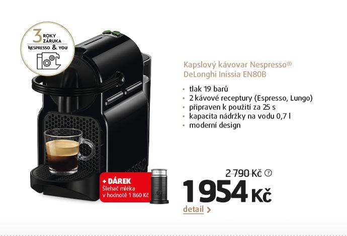 Kapslový kávovar Nespresso® DeLonghi Inissia EN80B