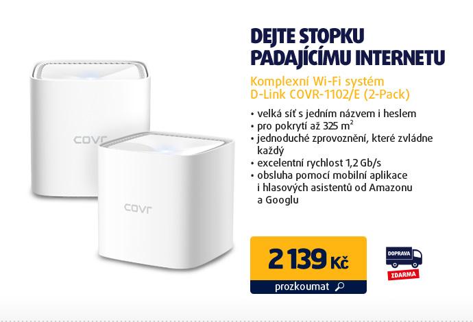 Komplexní Wi-Fi systém D-Link COVR-1102/E (2-Pack)
