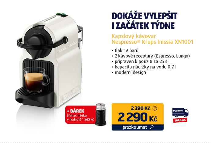 Kapslový kávovar Nespresso® Krups Inissia XN1001