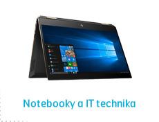 Notebooky a IT technika