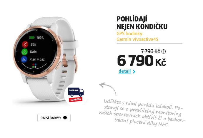 GPS hodinky Garmin vívoactive4S
