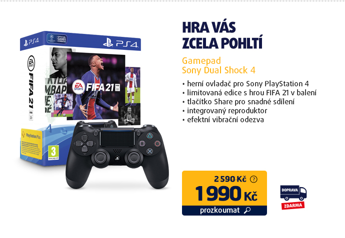 Gamepad Sony Dual Shock 4