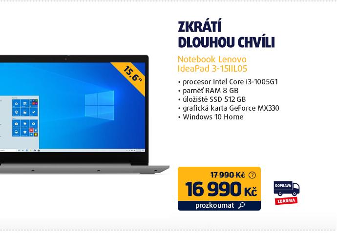 Notebook Lenovo IdeaPad 3-15IIL05