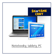 Notebooky, tablety, PC