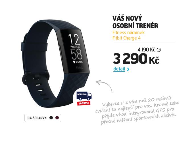 Fitness náramek Fitbit Charge 4