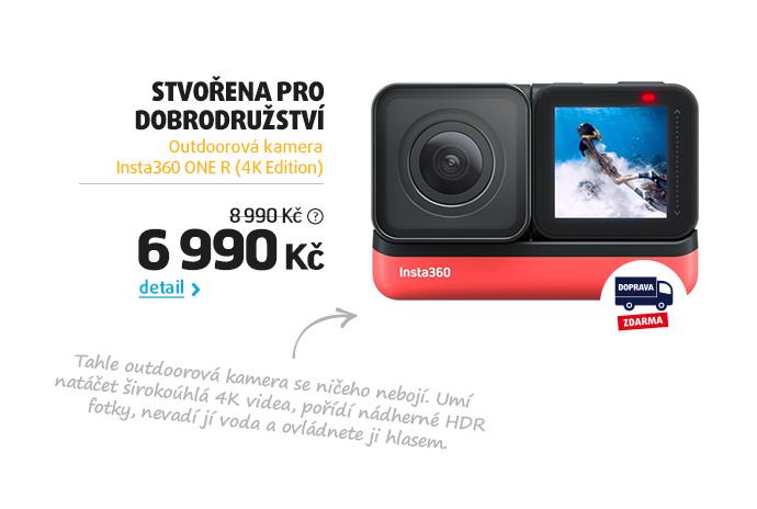Outdoorová kamera Insta360 ONE R (4K Edition)