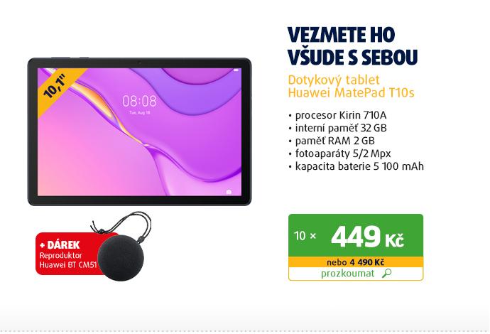 Dotykový tablet Huawei MatePad T10s
