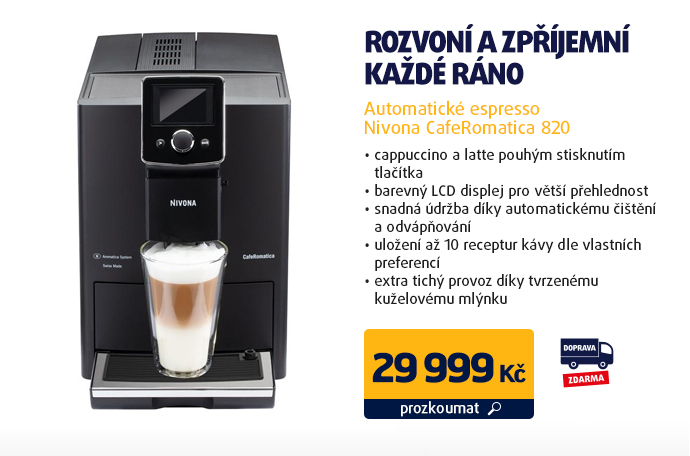 Automatické espresso Nivona CafeRomatica 820