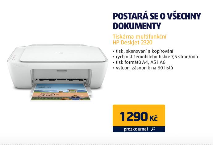 Tiskárna multifunkční HP Deskjet 2320