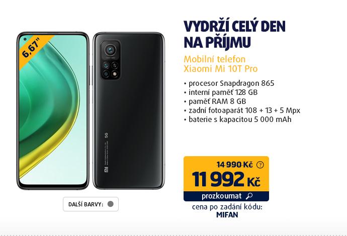 Mobilní telefon Xiaomi Mi 10T Pro