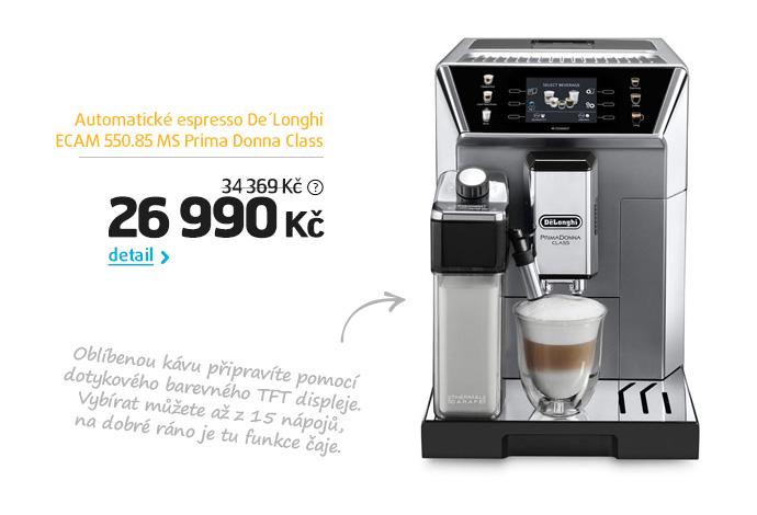 Automatické espresso De'Longhi ECAM 550.85 MS Prima Donna Class