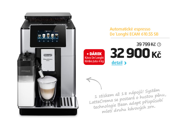 Automatické espresso De'Longhi ECAM 610.55 SB