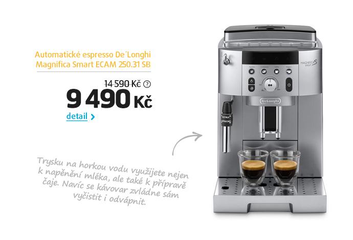 Automatické espresso De'Longhi Magnifica Smart ECAM 250.31 SB