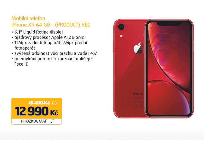 iPhone XR 64 GB – (PRODUCT) RED