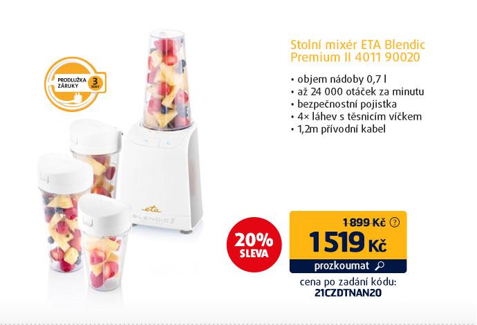 Stolní mixér ETA Blendic Premium II 4011 90020