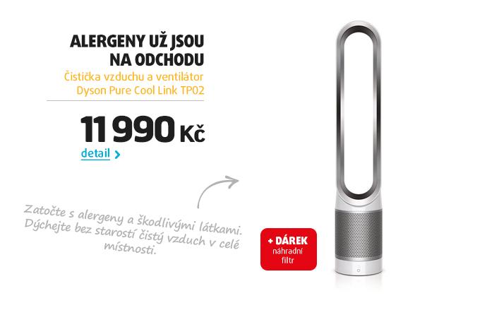 Čistička vzduchu a ventilátor Dyson Pure Cool Link TP02