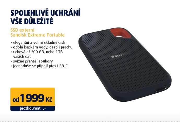 SSD externí Sandisk Extreme Portable