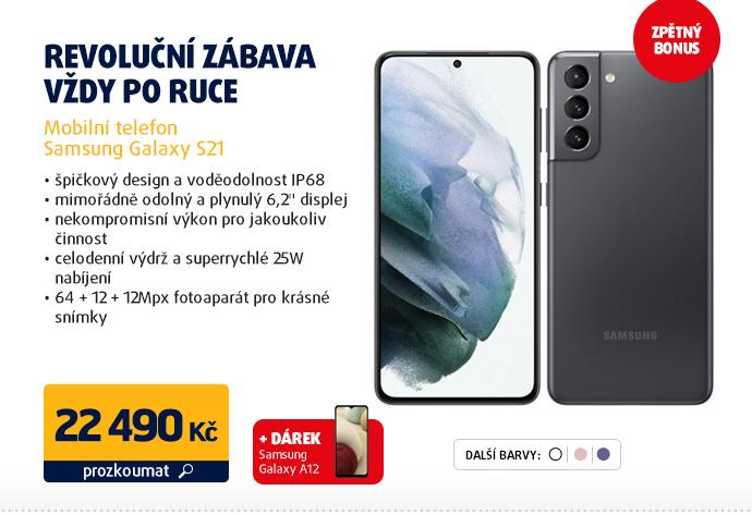 Mobilní telefon Samsung Galaxy S21