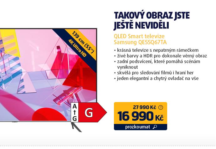 QLED Smart televize Samsung QE55Q67TA