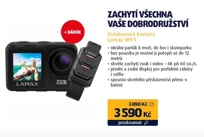 Outdoorová kamera Lamax W9.1