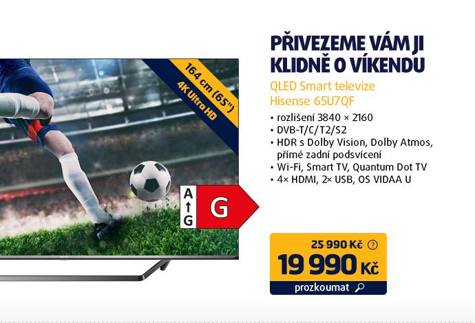 QLED Smart televize Hisense 65U7QF