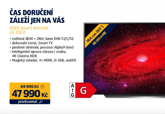OLED Smart televize LG 65CX