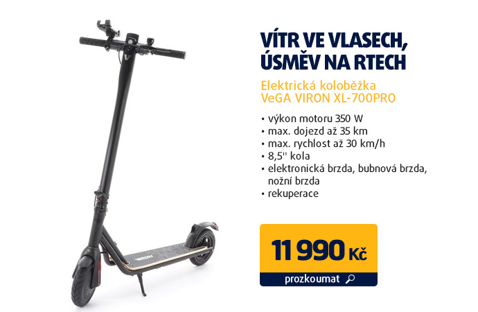 Elektrická koloběžka VeGA VIRON XL-700PRO