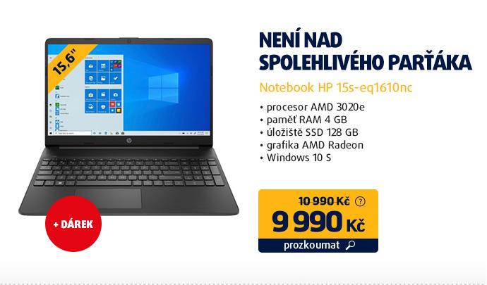 Notebook HP 15s-eq1610nc