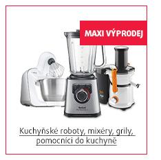 Kuchyňské roboty, mixéry, grily, pomocníci