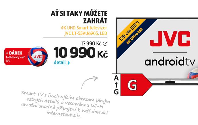 4K UHD Smart Televizor JVC LT-55VU6905, LED
