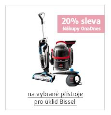20% sleva na vybrané přístroje pro úklid Bissell