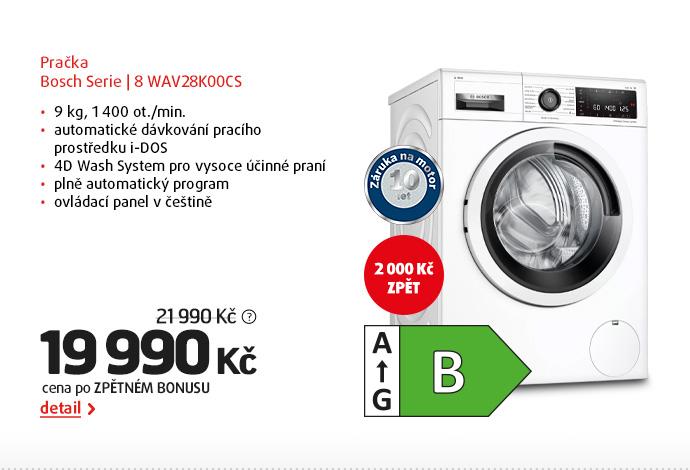 Pračka Bosch Serie | 8 WAV28K00CS
