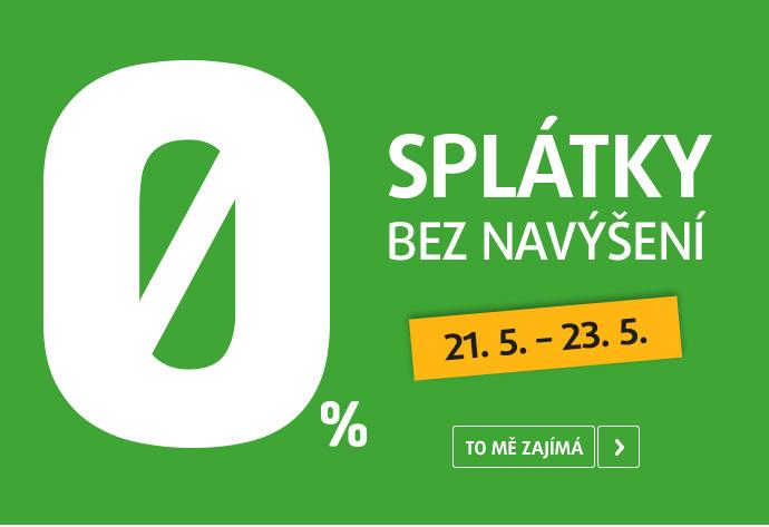 0% SPLÁTKY