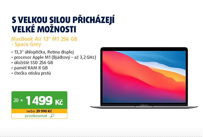 "MacBook Air 13"" M1 256 GB - Space Grey"
