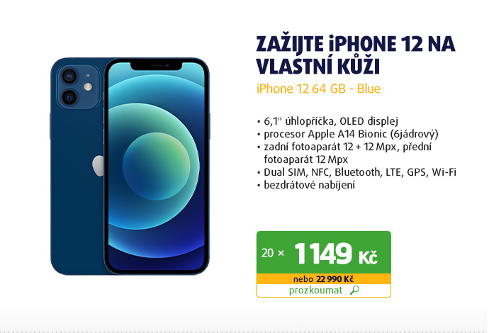 iPhone 12 64 GB - Blue