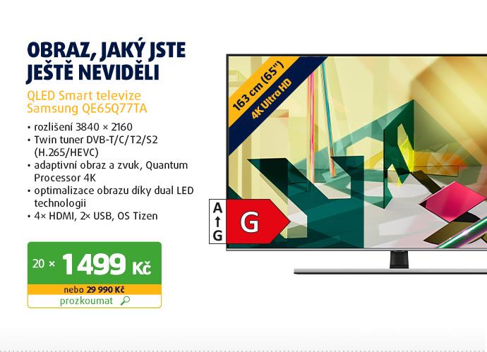 QLED Smart televize Samsung QE65Q77TA
