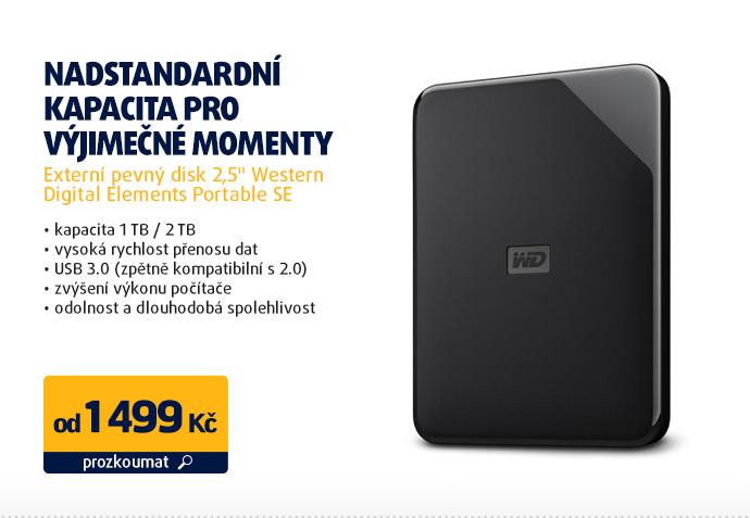 "Externí pevný disk 2,5"" Western Digital Elements Portable SE"