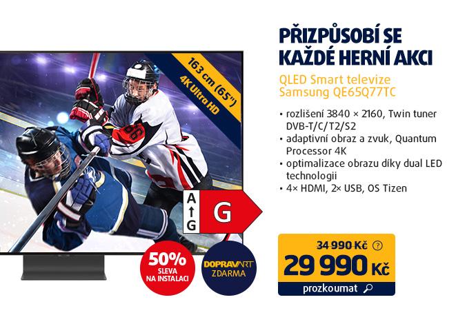 QLED Smart televize Samsung QE65Q77TC