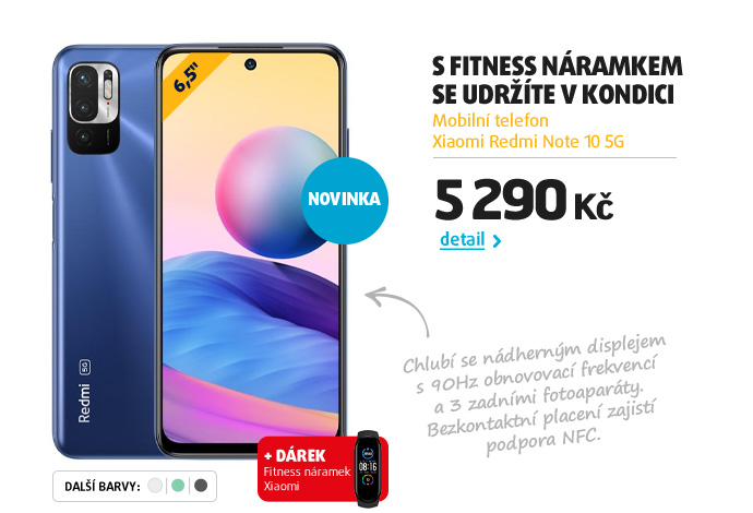 Mobilní telefon Xiaomi Redmi Note 10 5G