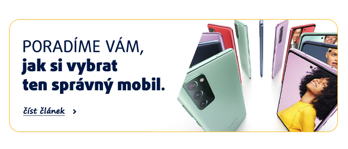 Poradíme vám, jak si vybrat ten správný mobil. číst článek >>