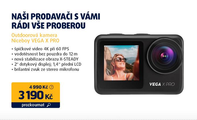 Outdoorová kamera Niceboy VEGA X PRO