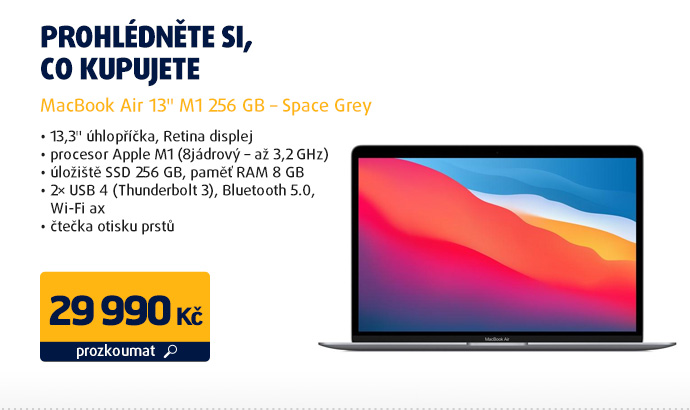 "MacBook Air 13"" M1 256 GB – Space Grey"